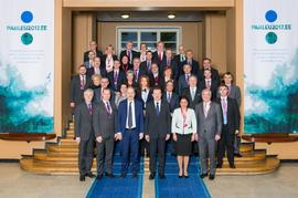 The Secretary General of the National Assembly, Ms Stefana Karaslavova, participated as key speaker at the Meeting of the Secretaries General of the European Union Parliaments
