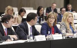"Bulgaria's EU Presidency will be remembered with the words ""Future, chance, European perspective, connectivity of the Balkans"", said Ekaterina Zaharieva at the COSAC Plenary meeting"